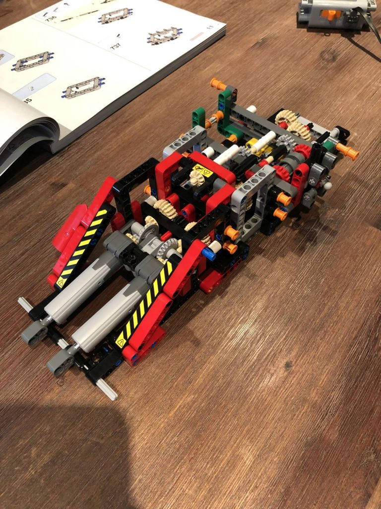 Ruff Terrain Crane oberes Getriebe