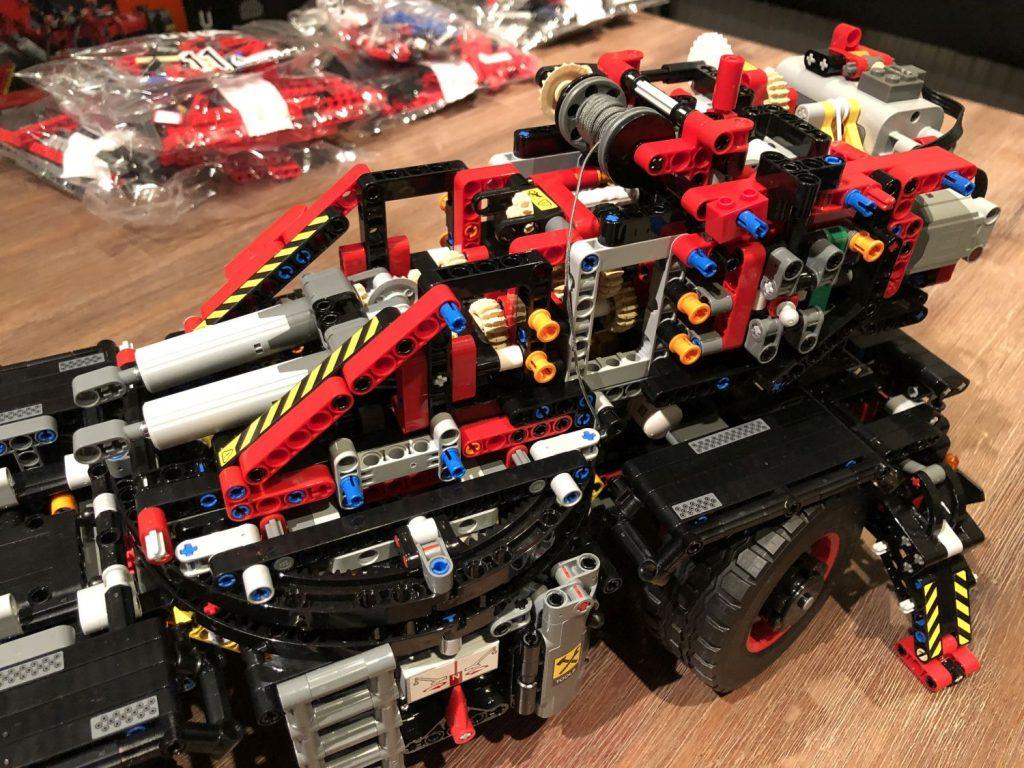 Ruff Terrain Crane oberes Getriebe mit Motor