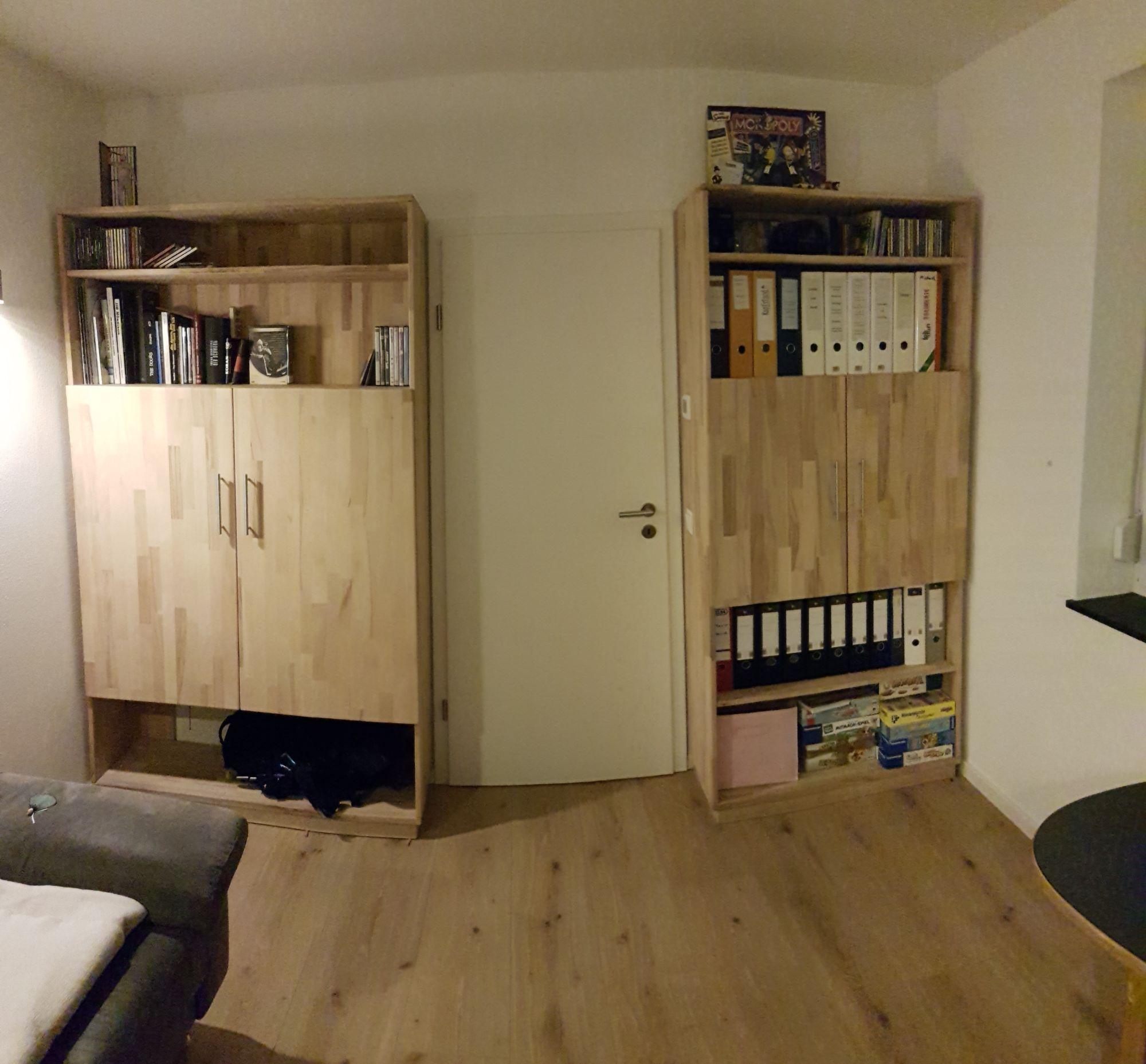 Büroschrank selber bauen, seitenteile