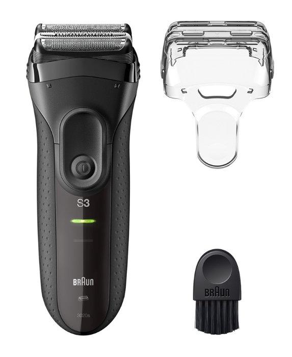 Braun Series 3 ProSkin mit Schutzkappe und Reinigungsbürste
