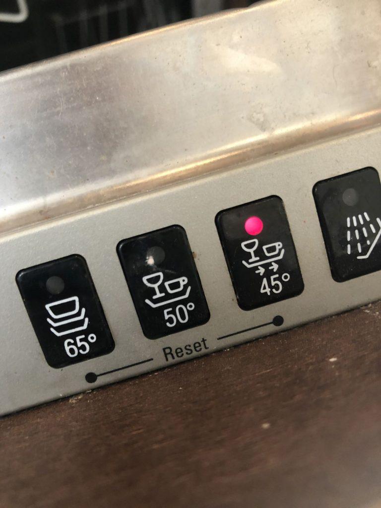 maximaltemperatur 45°C einstellen